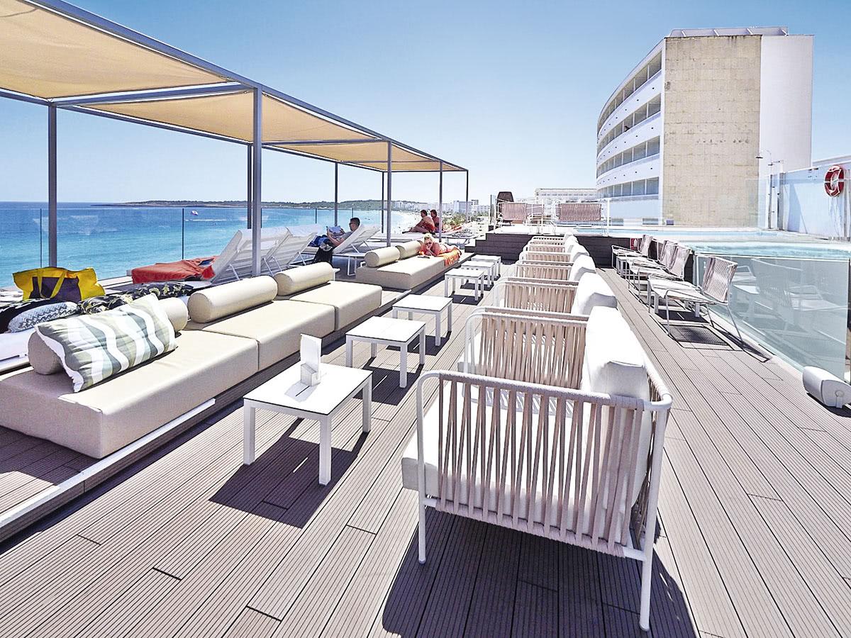 Allsun hotel amarac auf mallorca in cala millor spanien for Urlaub designhotel