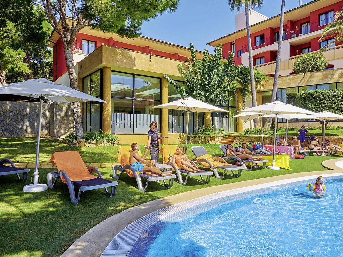 allsun hotel illot park auf mallorca in cala ratjada spanien. Black Bedroom Furniture Sets. Home Design Ideas