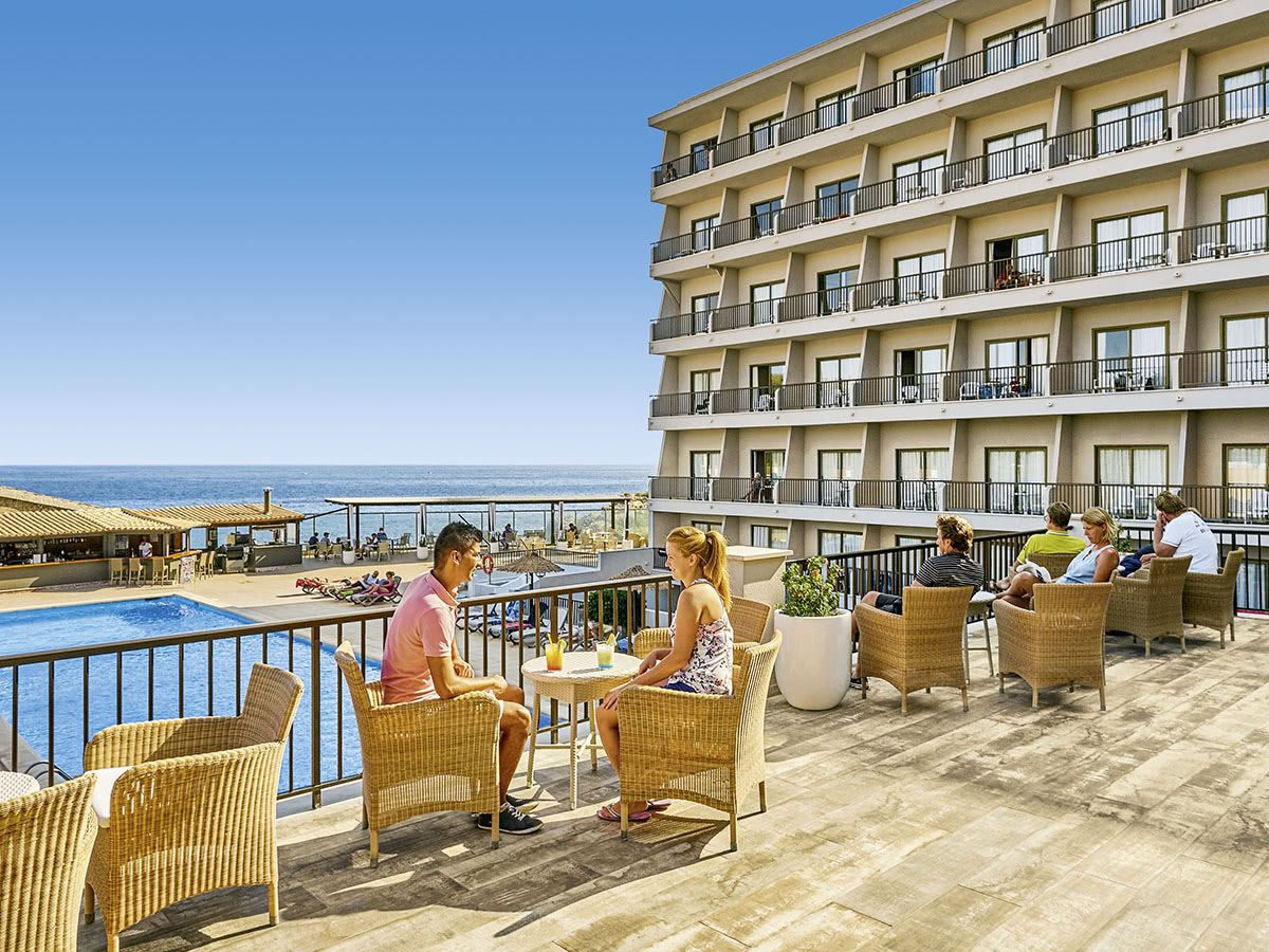 Allsun Hotel Lux De Mar Auf Mallorca In Sa Coma Spanien