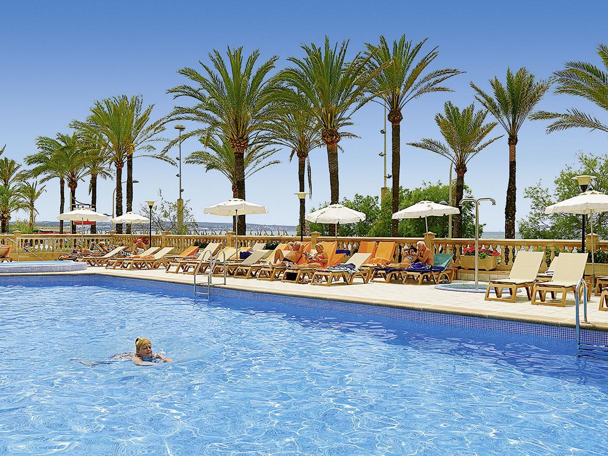 allsun Hotel Pil-Lari Playa auf Mallorca in Playa Palma, Spanien