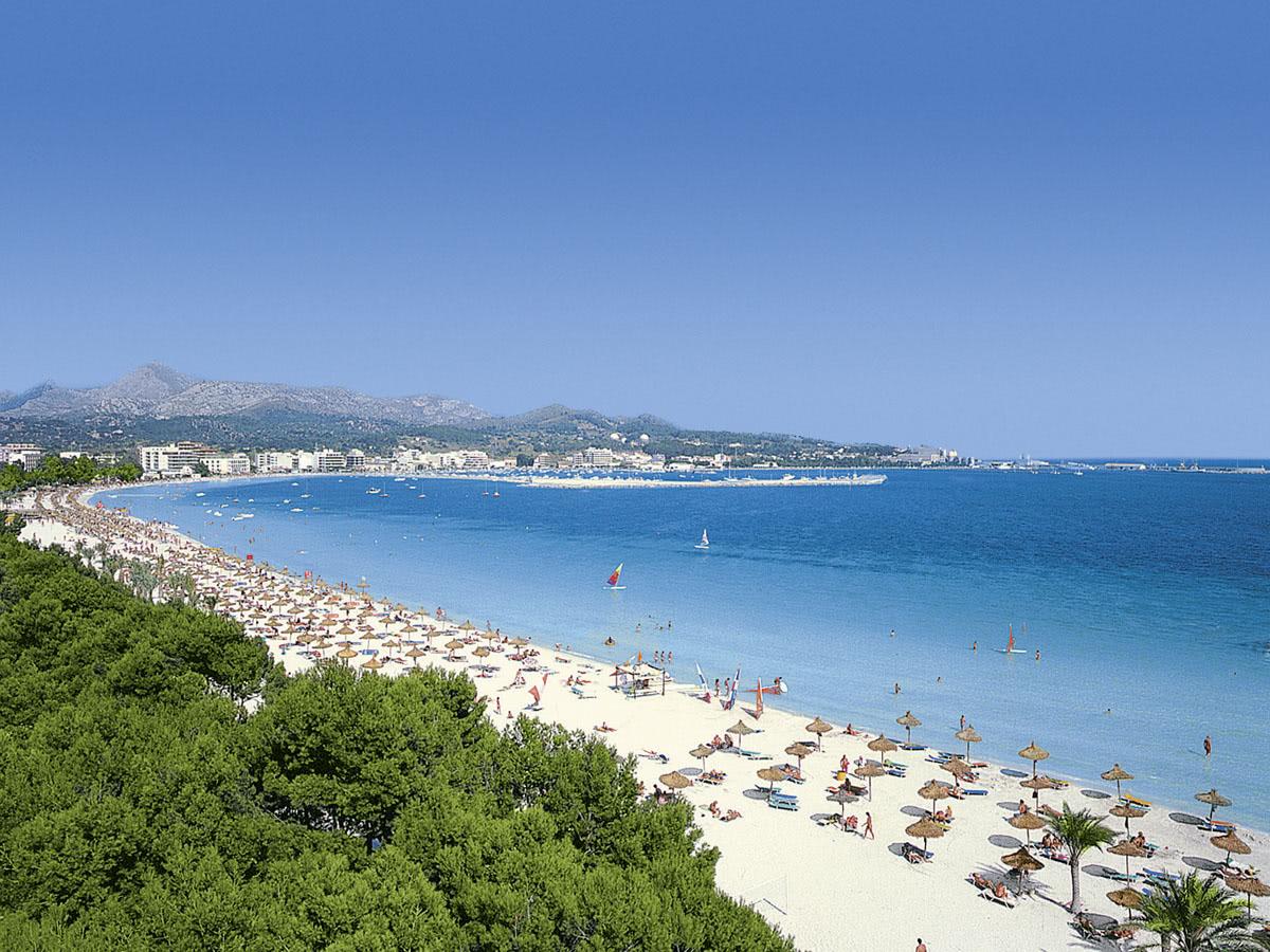 Hotels In Alcudia Direkt Am Strand  Sterne